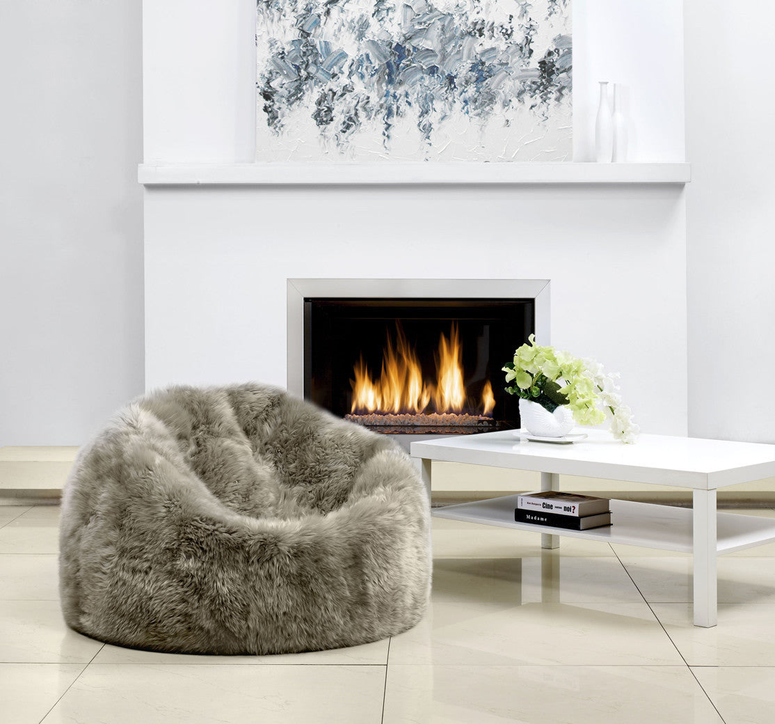 Vole Sheepskin Bean Bag - Auskin | Luxe Home Philadelphia