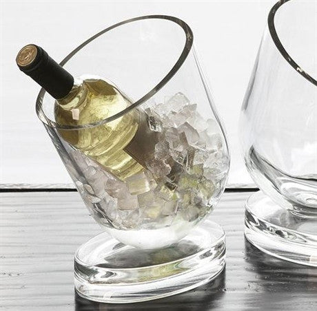 Slanted Design Wine Chiller - Global Views