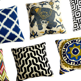 Kashmir Wool Pillows