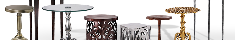 Recycled Aluminum Tables