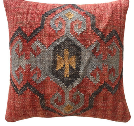 Decorative Jute Pillow