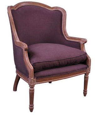 French Louis XVI Bergere Chair