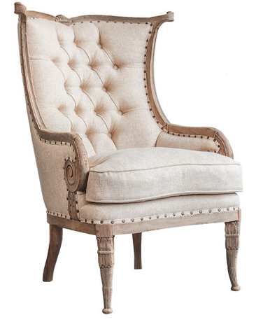 Lengkung Wing Chair
