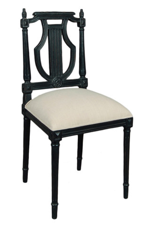 Louis XVI Carved Dining Chair