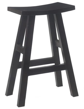 Rowan Bar Stool, Black