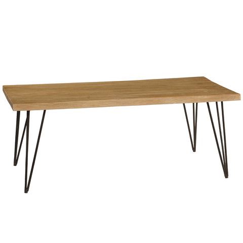 Atlas Coffee Table, Gray Wash