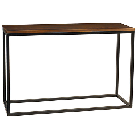 Burlington Iron & Wood Console Table Large, Rustic Honey