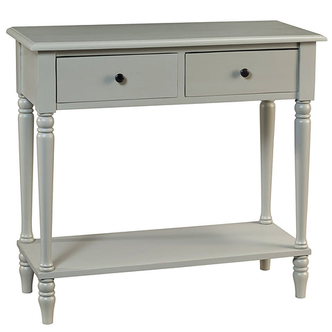 Balai Table, Silver Gray