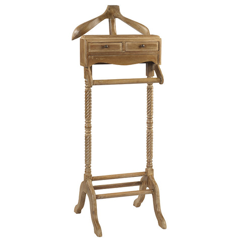 Javall Valet Stand, Gray Wash