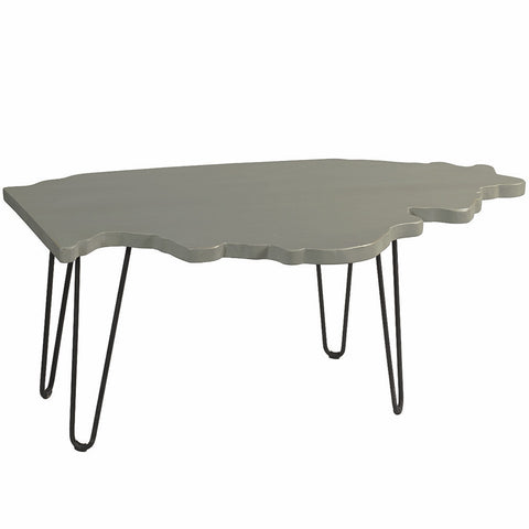 Illinois Coffee Table, Slate Blue