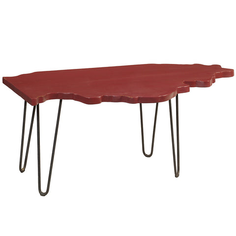 Illinois Coffee Table, True Red