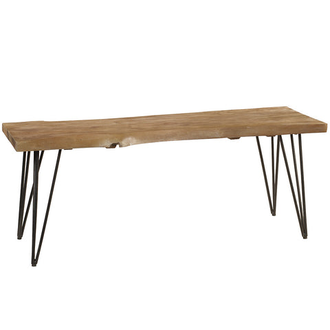 Atlas Bench, Gray Wash
