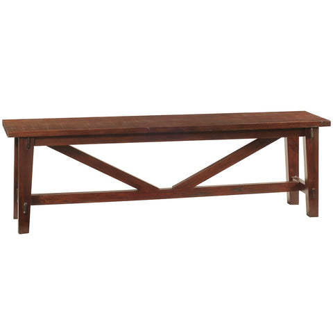 Rustic Bench, Rustic Tobacco