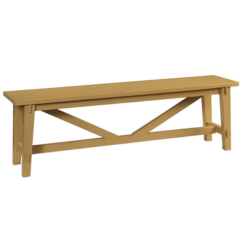Rustic Bench, Sunset Gold
