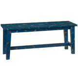 Trenon Bench, Rustic Blue