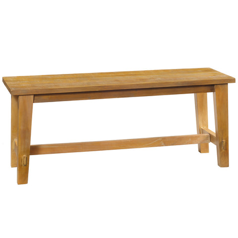 Trenon Bench, Rustic Honey