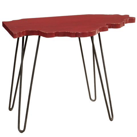 Illinois End Table, New True Red