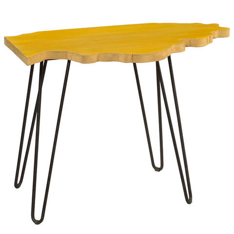 Illinois End Table, Sunset Gold