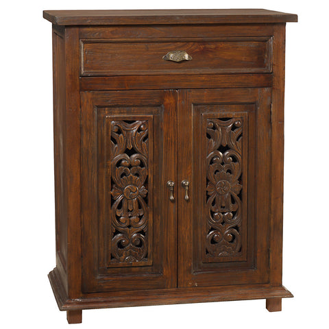 Jepara Cabinet, Light Mahogany