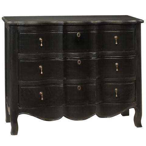 Serpentine Chest, Black