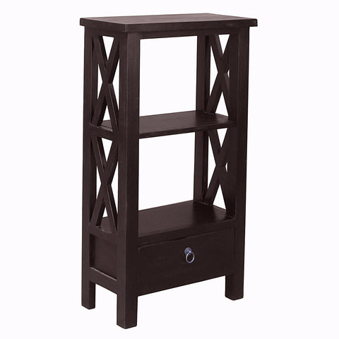 Allison Bookcase Small, Espresso