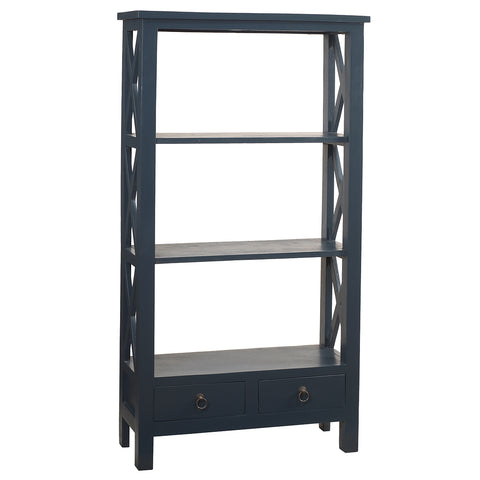 Allison Bookcase Medium, Navy