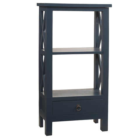 Allison Bookcase Small, Navy