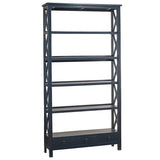 Allison Bookcase Extra Large, Navy