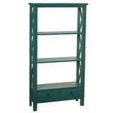 Allison Bookcase Medium, Ocean Green