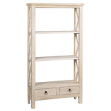 Allison Bookcase Medium, Whitewash