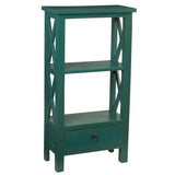 Allison Bookcase Small, Ocean Green