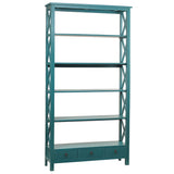 Allison Bookcase Extra Large, Teal