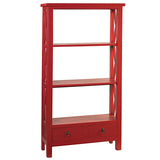 Allison Bookcase Medium, True Red