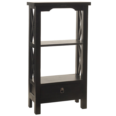 Allison Bookcase Small, Black