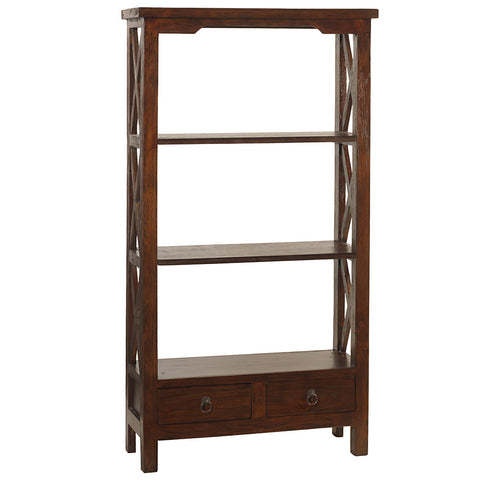 Allison Bookcase Medium, Light Mahogany