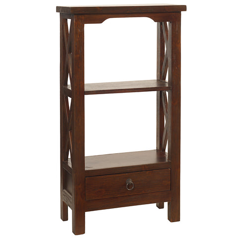 Allison Bookcase Small, Light Mahogany