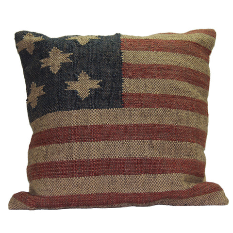 Betsy Ross American Flag Pillow