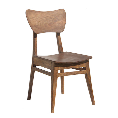 Mod Wood Chair, Natural Wood