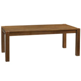 "Modern Rustic Dining Table 78"", Rustic Honey"