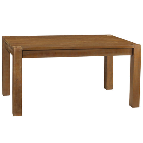 "Modern Rustic Dining Table 59"", Rustic Honey"