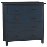 Bethany 5 Drawer Dresser, Navy