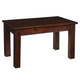 Kendari Coffee Table, Light Mahogany