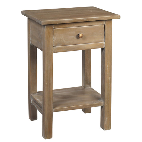 Tarakan End Table, Natural