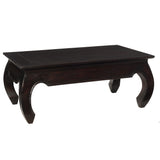 Samar Opium Coffee Table, Espresso