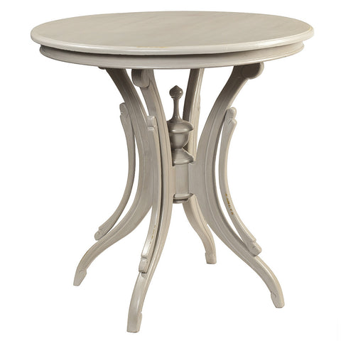 Clove Round Accent Table, Glacier Gray