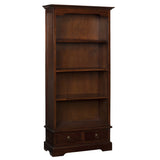 Batavia Bookcase, Light Mahogany