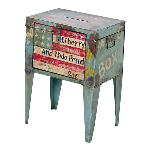 Postmaster Box End Table, Liberty