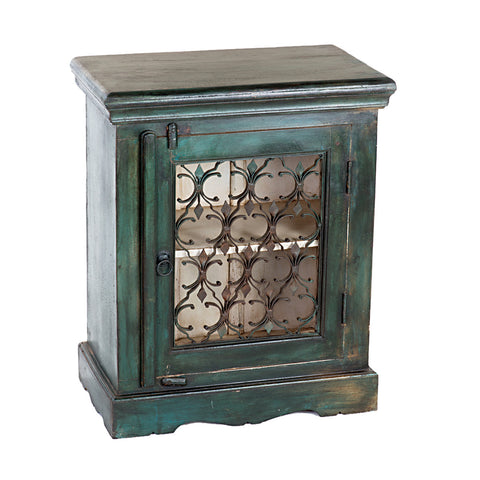 Talika Nightstand, Deep Green