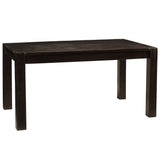 "Modern Rustic Dining Table 94"", Rustic Espresso"