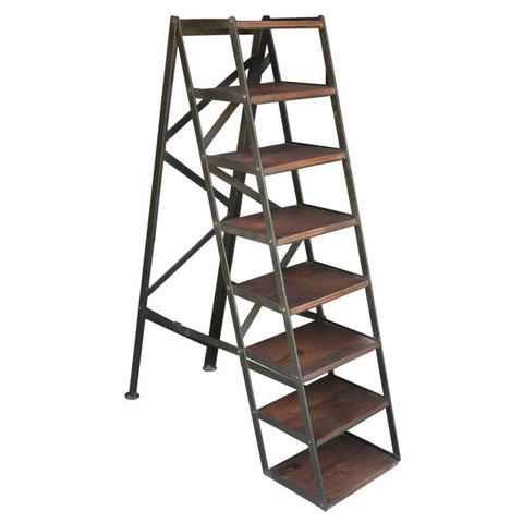 Devarda Ladder Bookshelf, Iron
